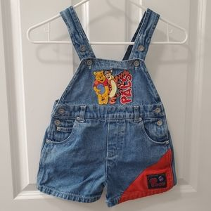 Toddler Pooh Bear Overalls
